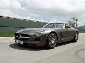 Video: Mercedes-Benz SLS AMG Roadster – Jízda a zvuk osmiválce