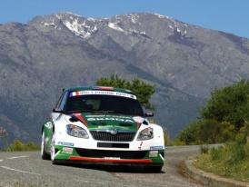 Prime Jalta Rally na Ukrajině přivítá obě tovární posádky týmu Škoda Motorsport