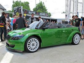 Škoda Fabia RS 2000 Speedster: Nové fotografie