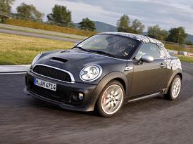 MINI Coupé: Automobilka potvrdila 4 motory, vrcholný JCW se 155 kW
