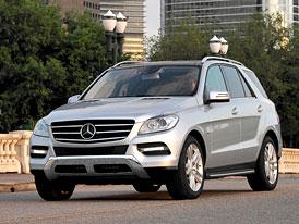 Nový Mercedes-Benz M (W166): Návrat čtyřválce
