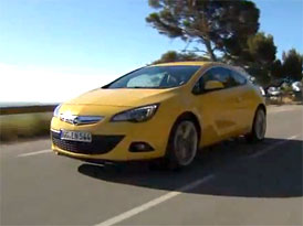 Video: Opel Astra GTC � S�riov� podoba t��dve�ov� karoserie