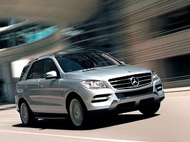 Mercedes-Benz třídy M: Šestilitrové SUV (nové foto)