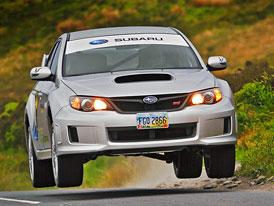 Subaru Impreza WRX STI na trati Isle of Man TT (video)