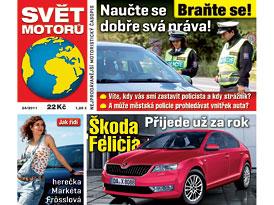 Svět motorů 24/2011: Škoda Felicia - přijede už za rok