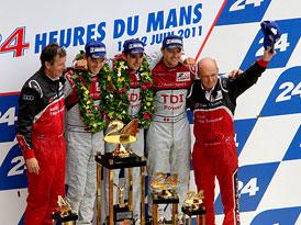 Le Mans 2011: Jediné Audi odolalo čtyřem Peugeotům (velká fotogalerie)