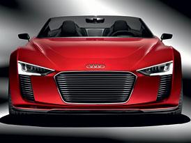 Audi e-tron Spyder: Do Le Mans v rudém
