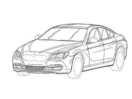 BMW Gran Coupé: Podoba čtyřdveřové šestky stvrzena patentem