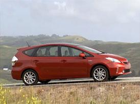 Video - Toyota Prius v – MPV s hybridním pohonem