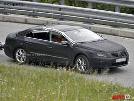Spy Photos: VW Passat CC – Ladění hranaté tváře