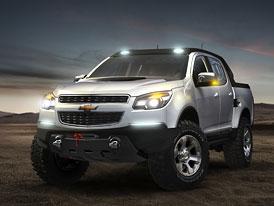 Chevrolet Colorado Rally Concept: Tentokrát jako Double Cab