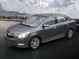 Chevrolet Cobalt: Koncept sedanu z Buenos Aires
