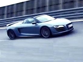 Video: Audi R8 GT Spyder – Nižší hmotnost, vyšší výkon