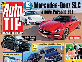 Auto Tip 13/2011: Mercedes-Benz SLC a Porsche 911