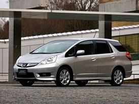 Honda Fit Shuttle: Prodloužený japonský Jazz