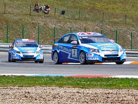 WTCC v Brn�: Dv� v�t�zstv� pro Chevrolet