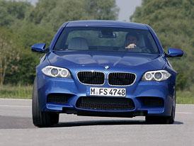 BMW M5: První oficiální video