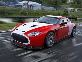 Aston Martin V12 Zagato: Zig a Zag jedou letošní 24h Nürburgringu
