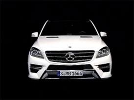 Video: Mercedes-Benz M � Prohl�dka exteri�ru a interi�ru