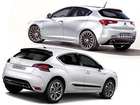 Alfa Romeo Guilietta vs Citroën DS4: Designový duel