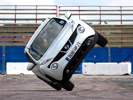 Nissan Juke se v Goodwoodu pokusí o rekord na dvou kolech