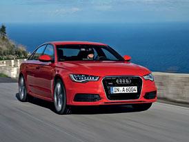 Audi A6 3,0 TDIR (230 kW) za 1,429 mil. Kč, 4,0 TFSI (300 kW) za 1,8 mil. Kč