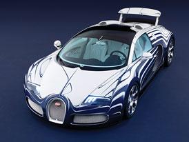 Bugatti Veyron Grand Sport L'Or Blanc: Jako z porcelánu