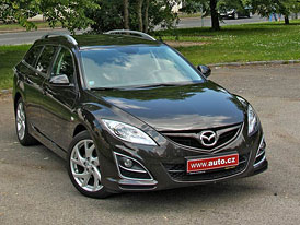 Mazda 6 2,2 MZR-CD Wagon: Dlouhodobý test