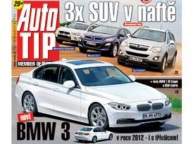Auto Tip 14/2011: 3x SUV v naftě a nové BMW 3