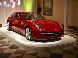 Ferrari FF v ČR: Premiéra na Pražském hradě
