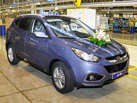 Hyundai začal vyrábět SUV ix35 v Nošovicích, výroba Vengy přesunuta na Slovensko