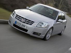 Neúspěšné modely: Cadillac BLS (2005-2010)