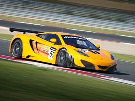 McLaren MP4-12C GT3: Nová verze, nové fotografie