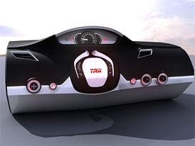 TRW: Interiér budoucnosti - volant zasouvatelný do přístrojové desky