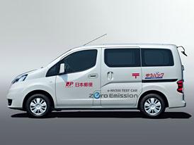 Nissan NV200 EV: Elektrický test začíná