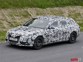 Spy Photos: Audi A4 – facelift ve stylu A6