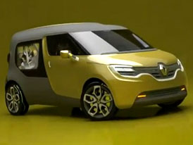 Renault Frendzy zdraví Roomster a chystá se do Frankfurtu