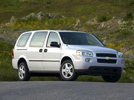 Neúspěšné modely: MPV od General Motors (2005-2008)