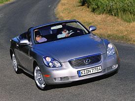 Neúspěšné modely: Lexus SC (2000-2010)