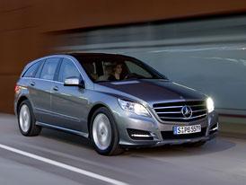 Neúspěšné modely: Mercedes-Benz triedy R (2005-)