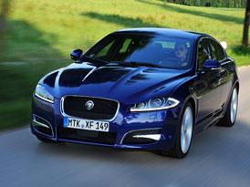 Jaguar XF (2012): Nové foto, technické údaje, české ceny