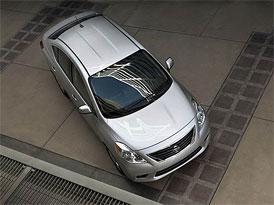 Nový Nissan Versa v USA: Americká Thalia za 200.000,-Kč