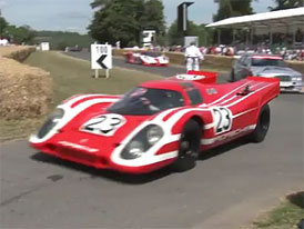 Video: Porsche na Goodwood Festival of Speed 2011