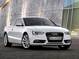 Audi A5 a S5: Facelift pro kupé, kabrio i Sportback