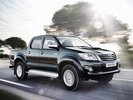 Toyota Hilux: Úprava vzhledu a interiéru pro rok 2012