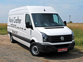 VW Crafter s novými motory: Jízdní dojmy