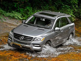 Mercedes-Benz M 2012 v USA: Jen šestiválce, ceny nezměněny