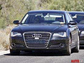 Spy Photos: Audi S8 s osmiválcovým motorem 4,0 TFSI