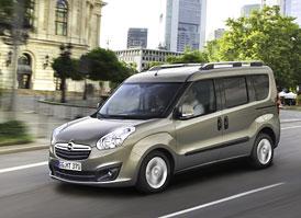 Opel Combo: Nová generace vychází z Fiatu Doblo