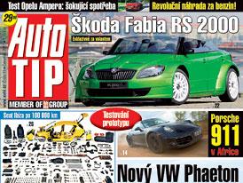 Auto Tip 15/2011: Jak bude vypadat Volkswagen Phaeton II